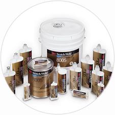 Fustier, adhesivos líquidos estructurales 3M