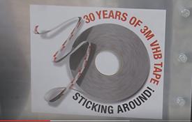 Fustier video: 30 years of 3M VHB TAPE