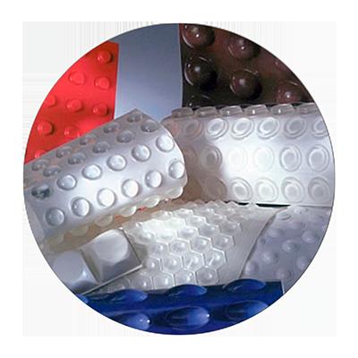 Fustier, topes protectores autoadhesivos de poliuretano Bumpon 3M