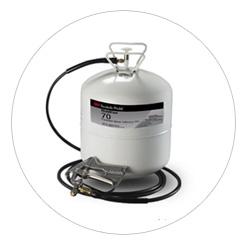 Fustier, adhesivos líquidos en aerosol 3M