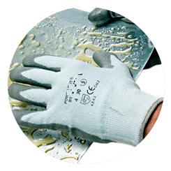 Fustier, proteccion corporal guantes 3M