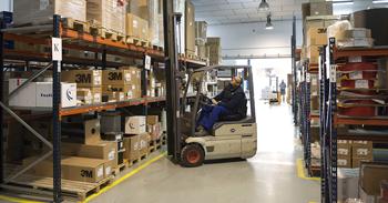 Fustier instalaciones logística almacén