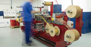 Fustier sala de máquinas fábrica