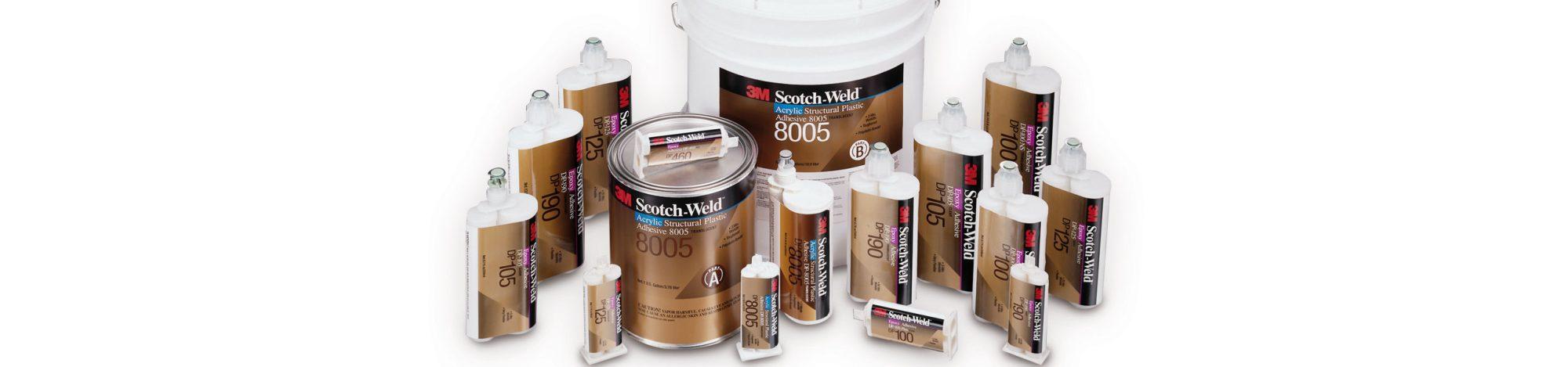 Fustier, adhesivos liquidos 3M