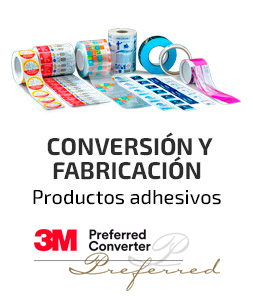 Fustier conversion fabricacion productos adhesivos 3M