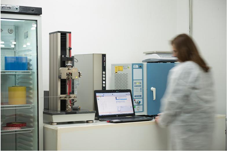 Laboratorio de control de calidad de Fustier