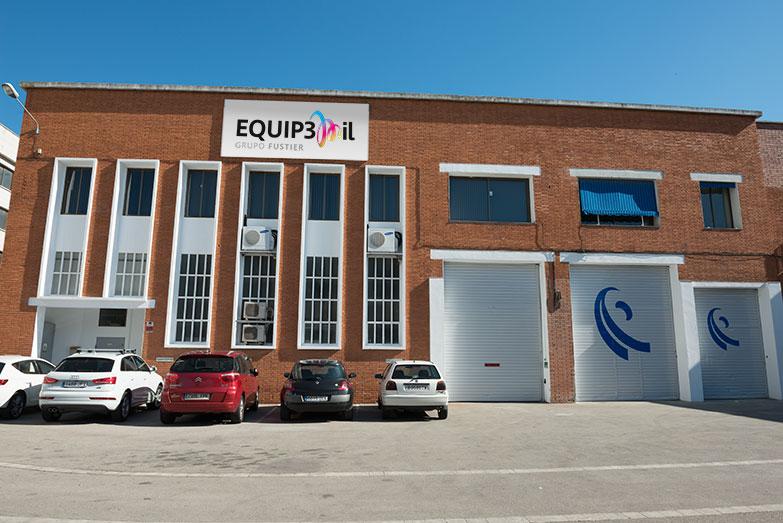 Nuevo almacén Fustier 3M en Montcada, Barcelona