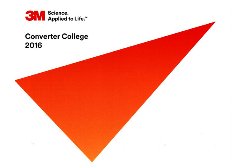 Fustier en el congreso 3M Converter College 2016 al que acudieron convertidores 3M de todo el mundo