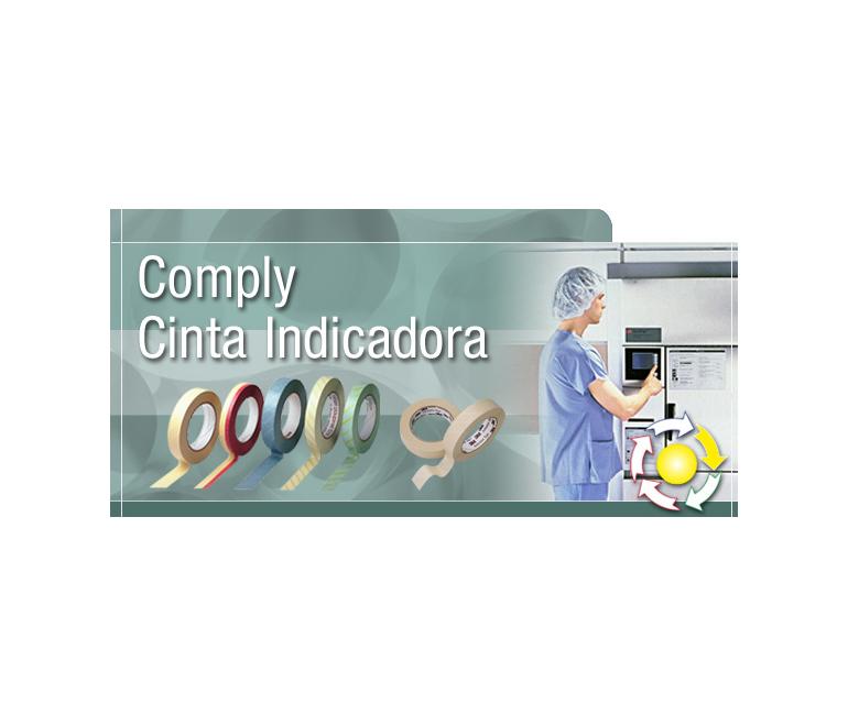Fustier presenta las cintas adhesivas imprimibles 3M Comply para la esterilización de equipamiento quirúrgico