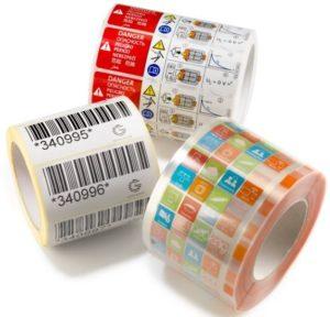 Etiquetas auto-adhesivas