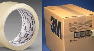 Cintas adhesivas 3M para embalaje
