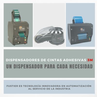 Fustier, dispensadores de cintas adhesivas 3m (versión 4)