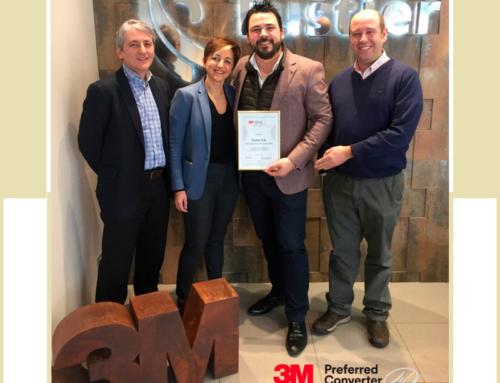 ¡Fustier recibe reconocimiento 3M Preferred Converter 2018!