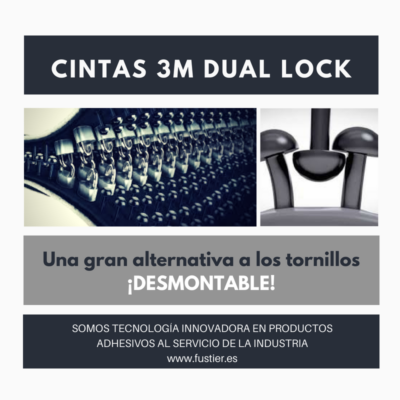 Cintas 3M Dual Lock34