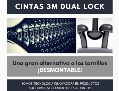 Nuestras Cintas 3M Dual Lock, ¡una gran alternativa a las fijaciones desmontables!