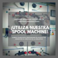 Fustier Spool Machine Gris