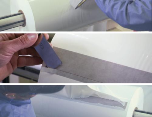 Nuestra Cinta Adhesiva 3M 7387 ¡La mejor opción en cintas para empalme de bobinas de film plástico!