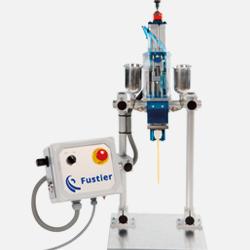 Dosificador de adhesivos líquidos comercializado por Fustier