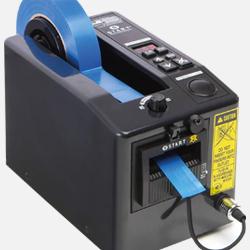 Dispensador eléctrico de cintas adhesivas M 1000 comercializado por Fustier