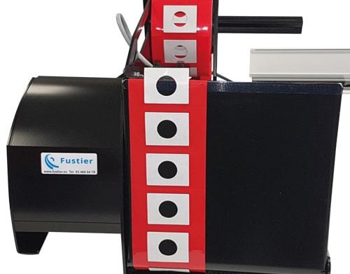 fustier dispensadores de cintas adhesivas troquelados etiquetas y desbobinadores de ovillos