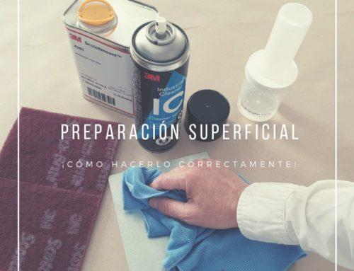 ¡Cómo preparar correctamente una superficie para cintas adhesivas!