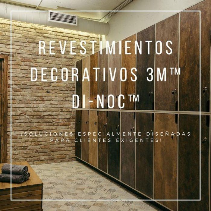 Revestimientos decorativos 3M Di-noc