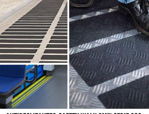 Por qué usar antideslizantes Safety Walk 3M™ Serie 600 en trenes y autobuses