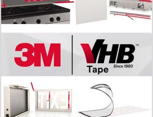 5 razones para reemplazar fijaciones mecánicas por cintas 3M™ VHB™